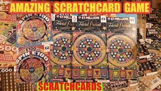 Here We GoooooOOOOO ..£180.00 SCRATCHCARDS......NEW TRIVIAL  PURSUIT CARDS & SPIN £100.. AND MORE