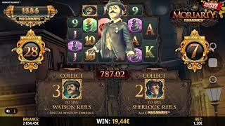 Moriarty Megaways Slot - Super Bonus BIG WINS!