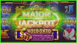 HIGH LIMIT Lock It Link Hold Onto Your Hat HANDPAY MAJOR JACKPOT $24 Bonus Round Slot Machine Casino