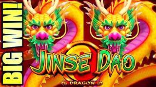 FINALLY! GOT THE FREE GAMES! BIG WIN! JINSE DAO DRAGON & PHOENIX Slot Machine (SG)