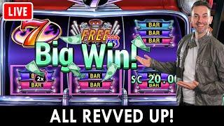Revved Up BIG WIN  Galactic HIGH LIMIT Respins BCSlots on PlayLuckyLand   #AD
