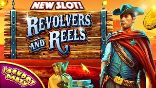 Ready, Aim, WIN! | Play Revolvers & Reels with Jackpot Party