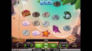 Beach slot from NetEnt - Gameplay