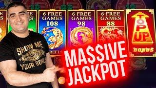 Endless Treasure Slot HUGE HANDPAY JACKPOT | $1,000 Challenge To Beat The Casino | EP-16