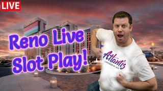 $8000 Bank The Bonus Live Slot Play from The Atlantis Casino Resort and Spa in Reno!