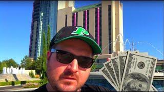 $1,000.00 To WIN At Atlantis Casino In Reno Nevada! NEW SLOT MACHINES!