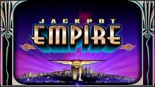 Jackpot Empire (Bally) - RISING X BONUS ROUND - MAX BET BIG WIN!