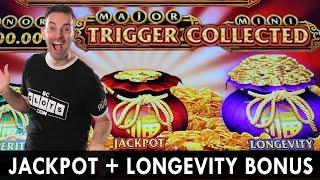 JACKPOT + LONGEVITY BONUS  Double Bonus at Choctaw Durant #ad