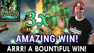 A Bountiful WIN on Pirates Bounty  LuckyLand Slots #ad