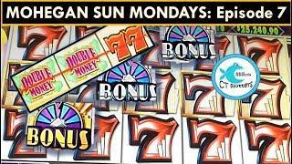 MOHEGAN SUN MONDAYS! HOT SHOTS Slot Machine: Part Deux! BIG WIN!