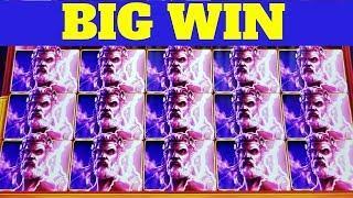 Zeus Unleashed & Kronos Unleashed Slot Machines BONUSES Won & BIG WIN   Max Bet Live Slot Play