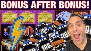 Lightning Link HIGH STAKES BONUS AFTER BONUS!!! ️     $7.50 - $25 BETS   EEEEE!