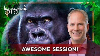 Fort Knox Majestic Gorilla Slot - BIG WIN SESSION, COOL!