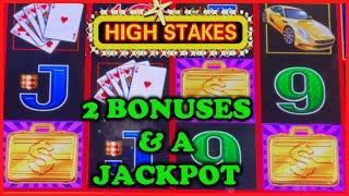 HIGH LIMIT Lightning Link High Stakes HANDPAY JACKPOT ️$50 Bonus Round Slot Machine Casino