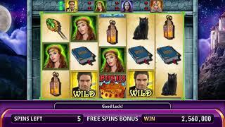 MAGIC KNIGHTS Video Slot Casino Game with an ENCHANTED FREE SPIN BONUS