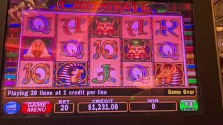 Cleopatra - Highly Requested - High Limit Slot Play - Seminole Hard Rock