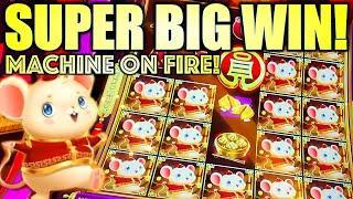 SUPER BIG WIN RUN! $8.80 BONUS!!  MARVELOUS MOUSE COIN COMBO Slot Machine (SG)