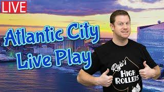 Live High Limit Slot Play  Going for the Gold in Atlantic City!