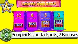 ️ New   Pompeii Rising Jackpots slot machines, 2 Bonuses
