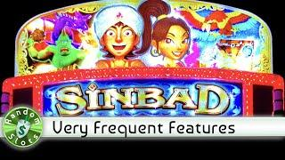 Sinbad slot machine, Lots of Features