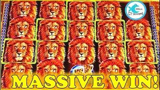 WE TRIED A NEW CASINO & HAD A MASSIVE WIN! OLD SCHOOL WMS COMES THROUGH! KING OF AFRICA Slot Machine