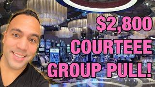 $2800 CourtEEE Birthday Group Pull!!  High Limit Munchkinland & Mighty Cash Pan Am!  ️