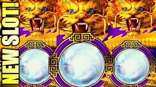 NEW SLOT! NICE WIN! DRAGON OF FORTUNE  MULTIWAY 3-REEL Slot Machine (IGT)