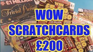 WOW!..£200..SCRATCHCARDS. WIN ALL.CASH VAULT.50X.SUPER7s