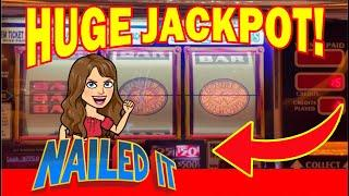 $100 BET AWESOME   Line Hit with HUGE Handpay  Old School PINBALL 2 JACKPOTS! PLUS Top Dollar!
