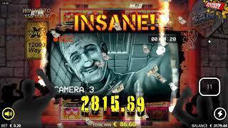 San Quentin Slot - INSANE BIG WIN!