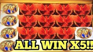 ***SUPER RED PHOENIX ALL WIN X5*** MORE MORE CHILI | GOLDEN WOLVES & More Win Bonus