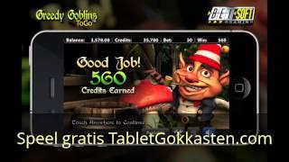 Greedy Goblins gokkast - Gratis Casino Slots op Tablet