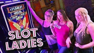 Colleen Plays Jinse Dao Phoenix with a Nice BONU$! •Slot Ladies Fun!