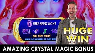 This Slot Machine is PURE MAGIC  Accidental Bets of $25 TWICE - Pays Off!