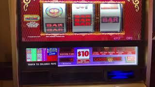 Double Top Dollar TWO Machines @$30 Spin - High Limit Slot Play