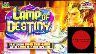 Mason & His DAMN Rapid Fire ~ LAMP OF DESTINY ~ BIG WIN!! ~ Live Slot Play @ San Manuel
