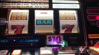 Triple Double Diamond  - 5 Times Pay - High Limit Slot Play