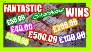 WOW!.Scratchcards Winners...Special...with George .says