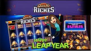 Quick Hits Riches! HIGH LIMIT HANDPAY! $18.75 Bet, Slot Machine *High Limit* Jackpot/Live Play