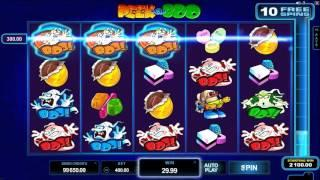 Peek-a-Boo slot Microgaming - Gameplay