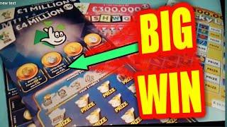 WOW!..WHAT A WINNER....WHAT A SHOCK...CASHWORD..LUCKY LINES.,MILLIONAIRE 7s....Night Classic