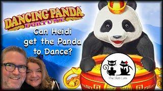 FU DAO LE  CAN HEIDI GET THE PANDA TO DANCE?  DANCING PANDA FORTUNE