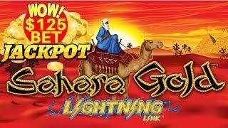 ️$125 BONUS ON HIGH LIMIT LIGHTNING CASH SAHARA GOLD ️LINK HANDPAY AT MOHEGAN SUN ️SLOT MACHINE