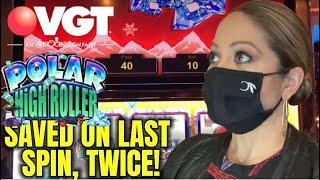 ️️ POLAR HIGH ROLLER SAVED ME! ️ ON MY VGT SUNDAY FUN'DAY! @CHOCTAW IN GRANT