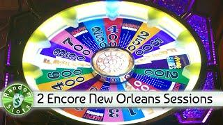 Wheel of Fortune New Orleans slot machine, 2 Encore Sessions