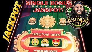 Max Bet Mighty Cash Double Up Jackpot Bonus! Handpay Retrigger
