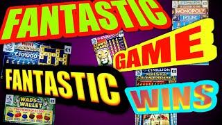 MEGA SCRATCHCARD GAME..CASH 7s DOUBLER..MONOPOLY..MONEY KINGDOM..PLAY FOR SCRATCHCARDS for Viewers