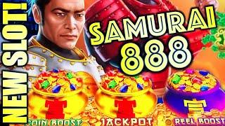 NEW SLOT! ALL ABOUT THE POTS! ️ SAMURAI 888 TAKEO Slot Machine (IGT)