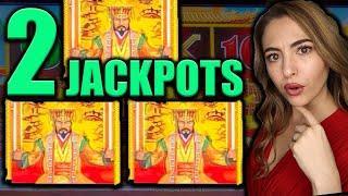 2 HANDPAY JACKPOTS w/MAJOR Jackpot on Dollar Storm!
