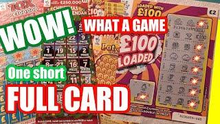 Wow!...What a Sctatchcard Game...£100 Loaded..Christmas Advent..Triple Jackpot..Pot of Gold